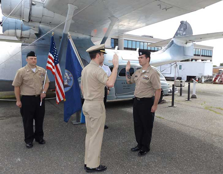 Book an Event - Reenlistment Ceremony