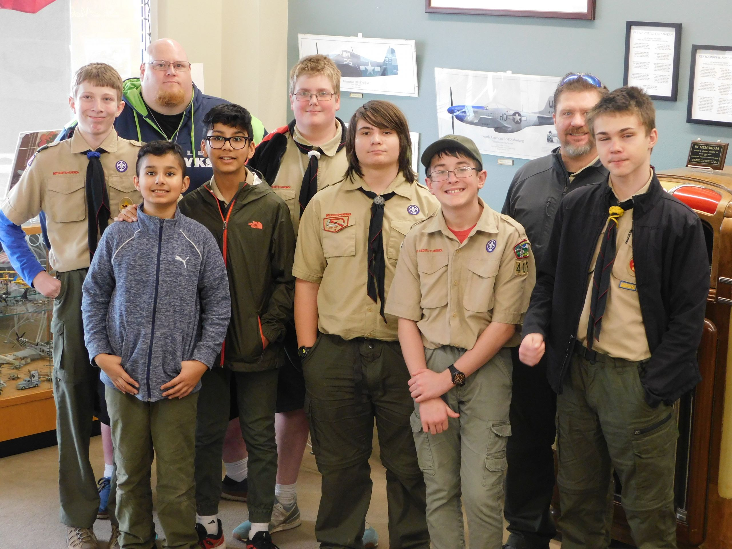 Photo of Boy Scout Troup